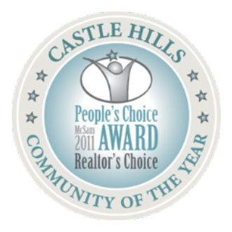 Castle Hills - Realtors' Choice Community of the Year Award